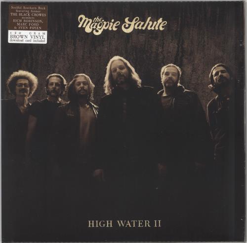 The Magpie Salute High Water II - 180gram Brown Vinyl - Sealed 2-LP vinyl record set (Double Album) UK YK82LHI732541