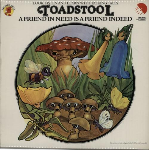 The Maiden Theatre Group Augustus Ant / Toadstool vinyl LP album (LP record) UK WSKLPAU606353