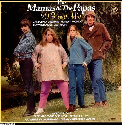 The Mama's And The Papa's 20 Greatest Hits vinyl LP album (LP record) UK M&PLPGR512430