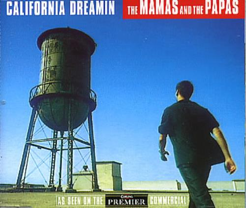 "The Mama's And The Papa's California Dreamin CD single (CD5 / 5"") UK M&PC5CA117389"