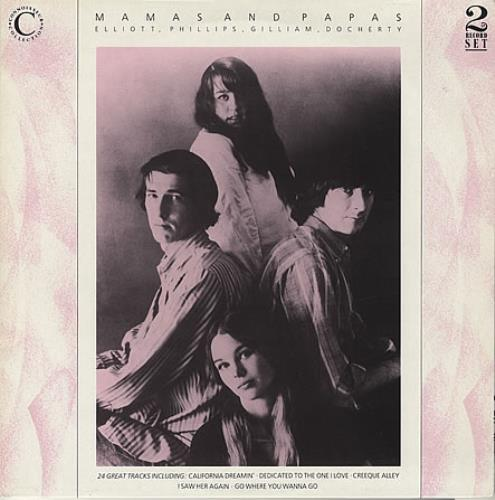 The Mama's And The Papa's Elliott, Phillips, Gilliam, Docherty 2-LP vinyl record set (Double Album) UK M&P2LEL231719