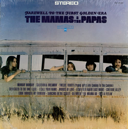 The Mama's And The Papa's Farewell To The First Golden Era - Stereo vinyl LP album (LP record) US M&PLPFA462127