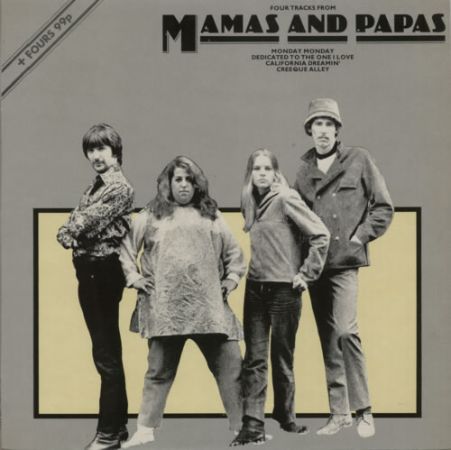 The Mama's And The Papa's Four Tracks From Mamas And Papas UK 12 ...