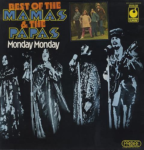 The Mama's And The Papa's Monday Monday: Best Of The Mama & The Papas vinyl LP album (LP record) UK M&PLPMO231718