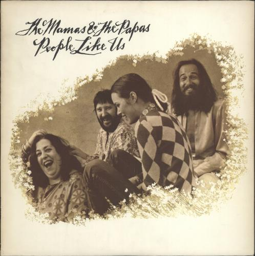 The Mama's And The Papa's People Like Us vinyl LP album (LP record) US M&PLPPE233395