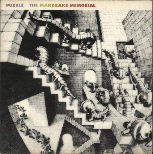 The Mandrake Memorial Puzzle vinyl LP album (LP record) UK Z3ELPPU723719
