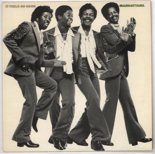 The Manhattans It Feels So Good vinyl LP album (LP record) UK MH7LPIT728833