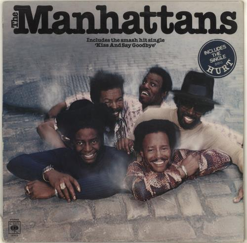The Manhattans Manhattans - Stickered Sleeve vinyl LP album (LP record) UK MH7LPMA714620