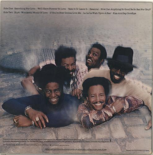 The Manhattans Manhattans - Stickered Sleeve vinyl LP album (LP record) UK MH7LPMA714620