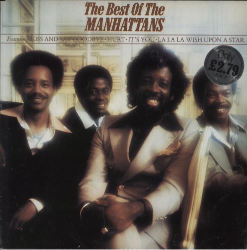 The Manhattans The Best Of The Manhattans vinyl LP album (LP record) UK MH7LPTH391347