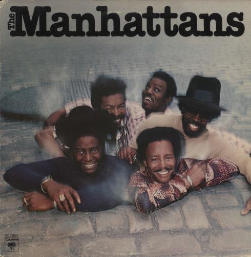 The Manhattans The Manhattans vinyl LP album (LP record) US MH7LPTH729300