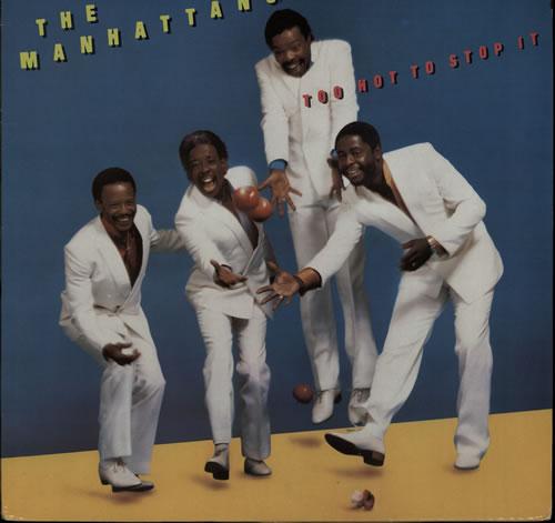 The Manhattans Too Hot To Stop It vinyl LP album (LP record) UK MH7LPTO575785