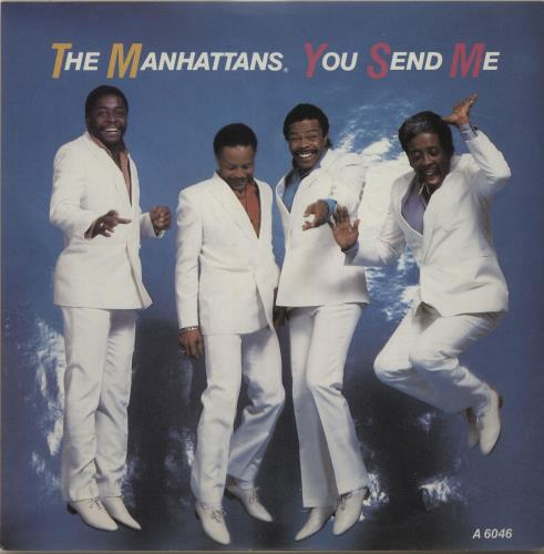 "The Manhattans You Send Me 7"" vinyl single (7 inch record) UK MH707YO684265"