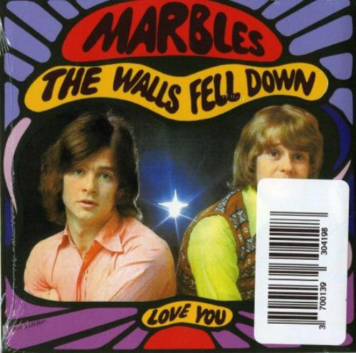 "The Marbles (60s) Only One Woman / The Walls Fell Down CD single (CD5 / 5"") French MRZC5ON353349"