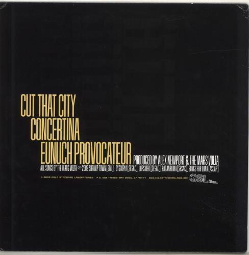 "The Mars Volta Tremulant EP - Yellow vinyl + Photo Insert 12"" vinyl single (12 inch record / Maxi-single) US RSO12TR692981"