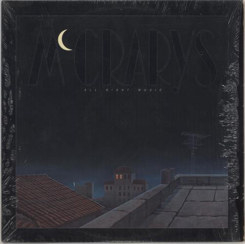 The McCrarys All Night Music + Shrink vinyl LP album (LP record) US X9KLPAL743352