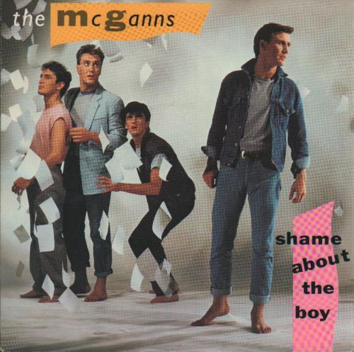 "The McGanns Shame About The Boy 7"" vinyl single (7 inch record) UK XVK07SH647624"