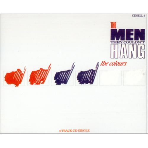 """The Men They Couldn't Hang The Colours CD single (CD5 / 5"""") UK MHAC5TH141708"""