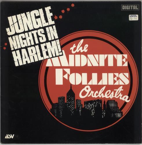 The Midnite Follies Orchestra Jungle Nights In Harlem vinyl LP album (LP record) UK XPHLPJU641136