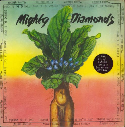 The Mighty Diamonds Deeper Roots [Back To The Channel] 2-LP vinyl record set (Double Album) UK MDI2LDE592951