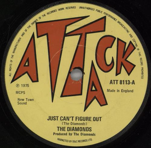 """The Mighty Diamonds Just Can't Figure Out 7"""" vinyl single (7 inch record) UK MDI07JU755819"""