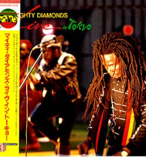 The Mighty Diamonds Live In Tokyo vinyl LP album (LP record) Japanese MDILPLI283383