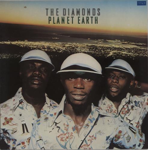 The Mighty Diamonds Planet Earth vinyl LP album (LP record) UK MDILPPL751930