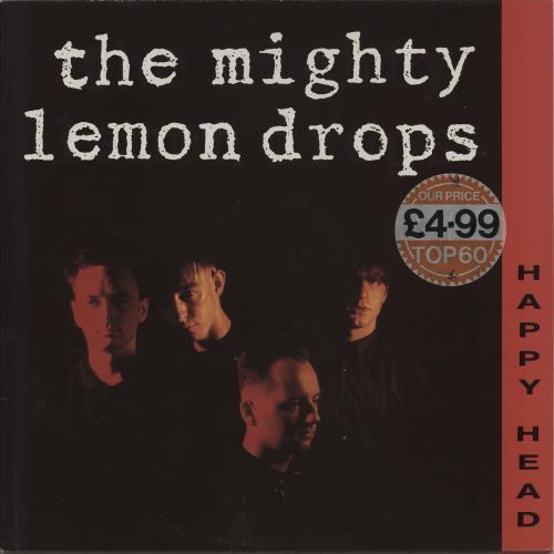 The Mighty Lemon Drops Happy Head Uk Vinyl Lp Album Lp Record 296713