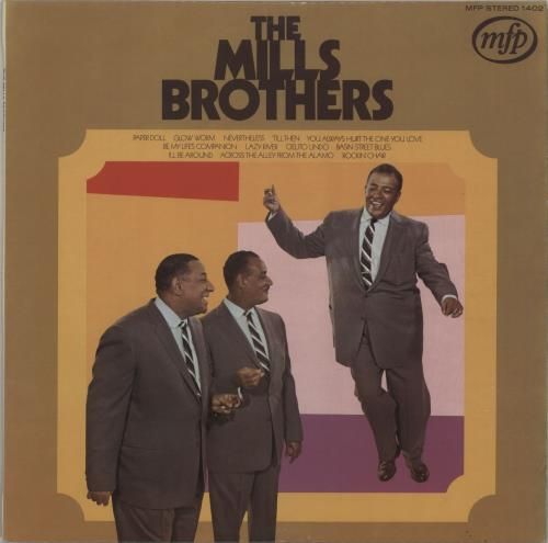 The Mills Brothers The Mills Brothers Greatest Hits vinyl LP album (LP record) UK MI5LPTH666986