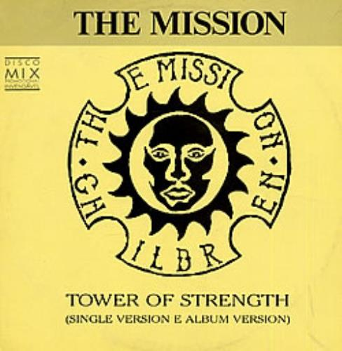 The Mission Tower Of Strength Brazilian Promo 12