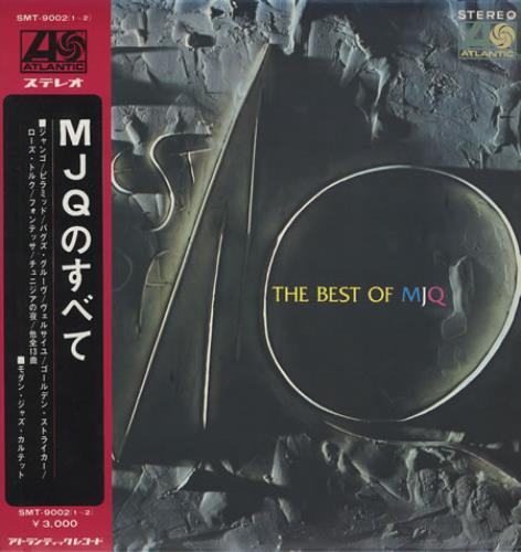 The Modern Jazz Quartet The Best Of MJQ + Obi 2-LP vinyl record set (Double Album) Japanese MJQ2LTH359958