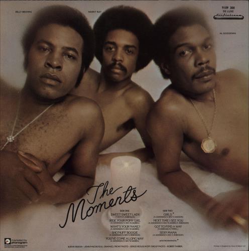 The Moments (60s) Those Sexy Moments + Press Kit vinyl LP album (LP record) UK T4RLPTH751042