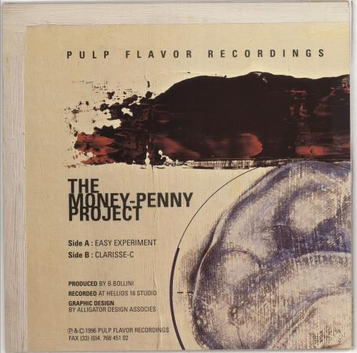 """The Money-Penny Project First P.F.R. World Athletics Championships 12"""" vinyl single (12 inch record / Maxi-single) French 0KV12FI732015"""