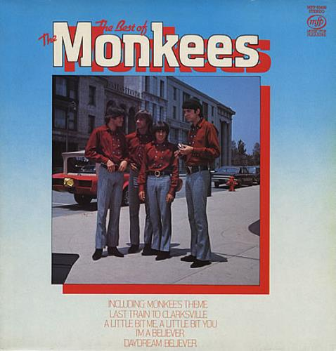The Monkees The Best Of The Monkees vinyl LP album (LP record) UK MKELPTH388166
