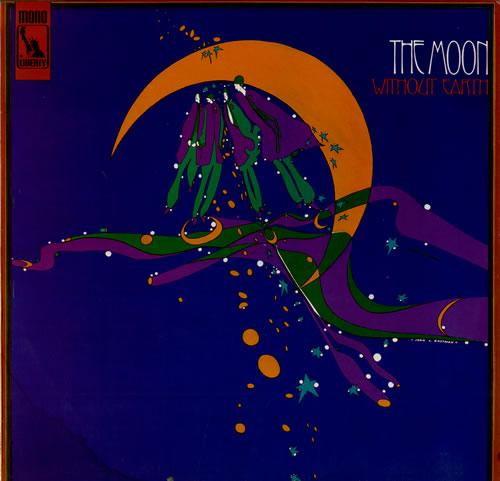 The Moon Without Earth vinyl LP album (LP record) UK U-FLPWI555614