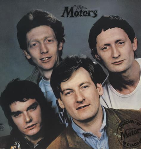 The Motors Approved By The Motors vinyl LP album (LP record) UK MTRLPAP299959