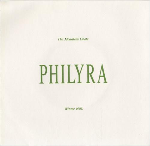 "The Mountain Goats Philyra EP 7"" vinyl single (7 inch record) UK MUG07PH502691"
