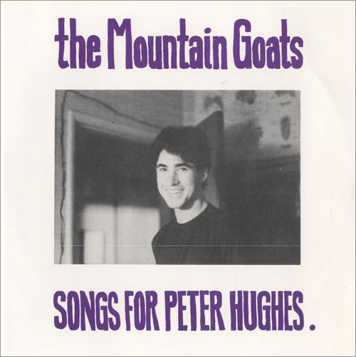 "The Mountain Goats Songs For Peter Hughes EP 7"" vinyl single (7 inch record) US MUG07SO507366"