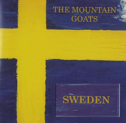 The Mountain Goats Sweden CD album (CDLP) US MUGCDSW490511