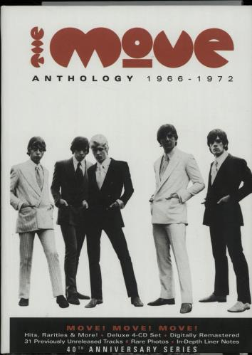 The Move Anthology 1966-1972 4-CD album set UK MOV4CAN448822
