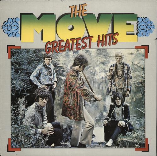 The Move Greatest Hits vinyl LP album (LP record) Dutch MOVLPGR723673