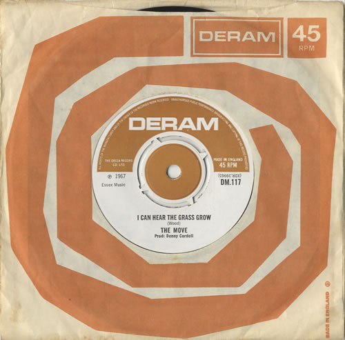 """The Move I Can Hear The Grass Grow - 1st 7"""" vinyl single (7 inch record) UK MOV07IC474619"""