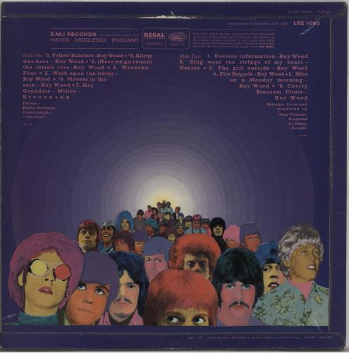 The Move Move - 1st vinyl LP album (LP record) UK MOVLPMO210313