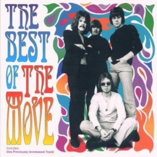 The Move The Best Of CD album (CDLP) German MOVCDTH362784