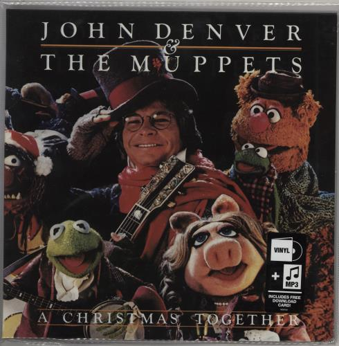 The Muppets A Christmas Together vinyl LP album (LP record) US MUPLPAC754656