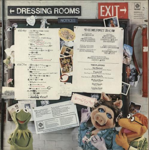 The Muppets The Muppet Show 2 UK vinyl LP album (LP record)