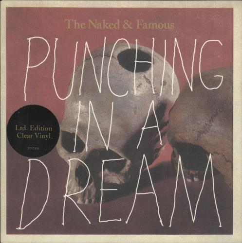"The Naked And Famous Punching In A Dream - Clear Vinyl 7"" vinyl single (7 inch record) UK U2T07PU717792"