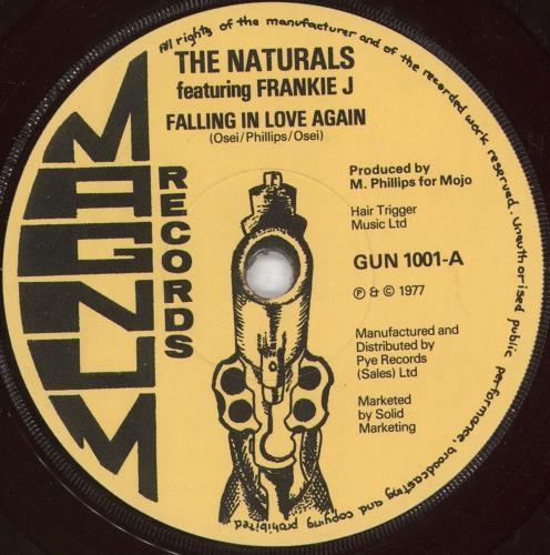 "The Naturals Falling In Love Again 7"" vinyl single (7 inch record) UK Z2E07FA723007"
