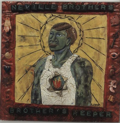The Neville Brothers Brother's Keeper vinyl LP album (LP record) Dutch NVBLPBR676209