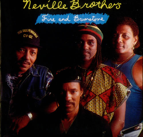 """The Neville Brothers Fire And Brimstone CD single (CD5 / 5"""") German NVBC5FI543780"""